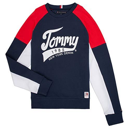 Tommy Hilfiger Herren Sweatshirt Tommy 1985 Sweatshirt weiß 14 (164)