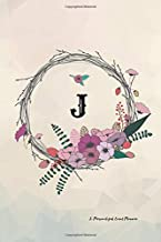 J: Personalized Event Planner: Undated Management Workbook For a Successful Planning; Perfect For Any Events; Reminder Logbook and Organizer; 6x9 Inches 83 Pages