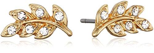 Pilgrim Pendientes de botón Mujer chapado en oro - 601632083