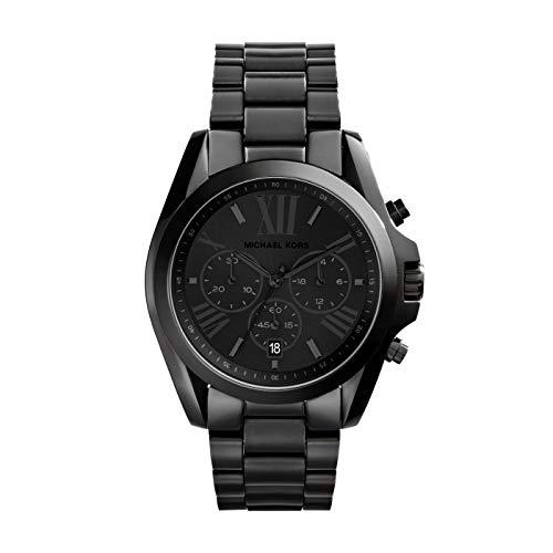 MICHAEL KORS Herren Chronograph Quarz Uhr mit Edelstahl Armband MK5550
