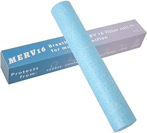 MERV 16 Filter Material, Filter Mask Insert Triple...