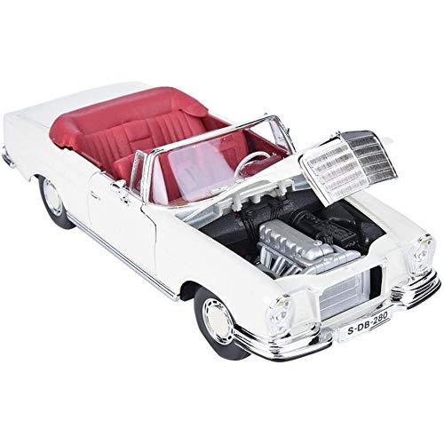 Cestbon modelauto 1:18 simulatie van legering, klassiek, retro-look, met stuurwielbediening, meubelcollectie, decoratie, model voor decoratie van het kinderstandje