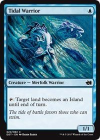 Wizards of the Coast Tidal Warrior - Duel Decks: Merfolk vs. Goblins
