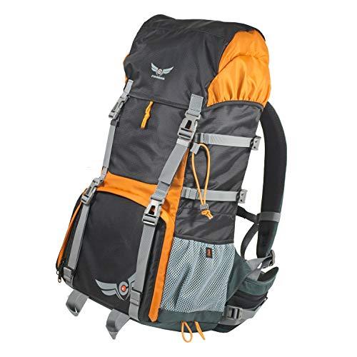 """Trekking Wander Rucksack """"KOMPAR"""" mit großem Fotofach, Fototasche für DSLR Kamera Ausrüstung von Firmcam."""