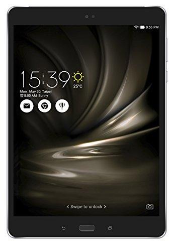 Asus ZenPad 3S 10 LTE, Tablet, Display da 9.7', Processore Qualcomm MSM8956, 4G/LTE, Memoria Interna da 64 GB, RAM da 4 GB, Nero