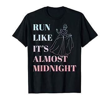 Disney Cinderella Run Like Midnight Ombre Graphic T-Shirt