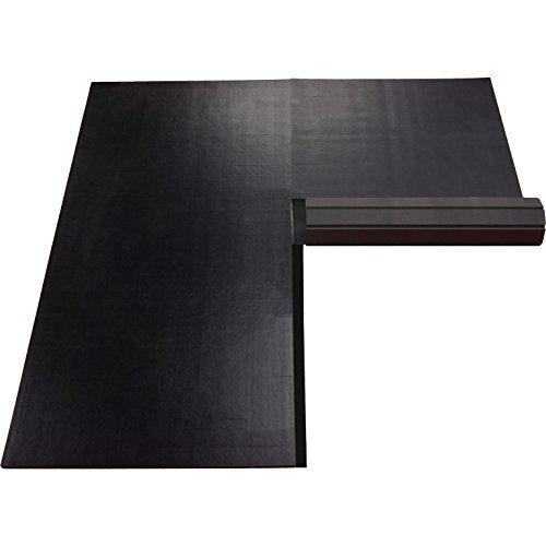 10'x10' Dollamur Flexi-Connect Flexi-Roll® Wrestling Mat (Black)