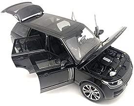 2017 Range Rover SV Autobiography Dynamic Metallic Black 1/18 Diecast Model Car by LCD Models LCD 18001 BK