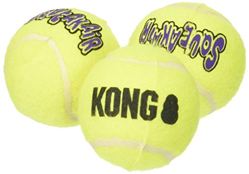 KONG Air DREI Small Breed Squeaker Tennisbälle, einen Artikel