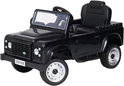 Toma Tretauto Land Rover Defender schwarz Exklusiv Go Kart Premium ab 3 Jahren Pedalfahrzeug Kinderauto