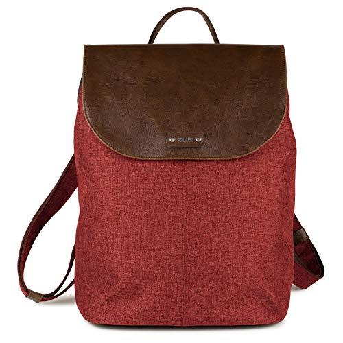 Zwei Damen Tasche O12 Olli, Größe:, Farbe:chili