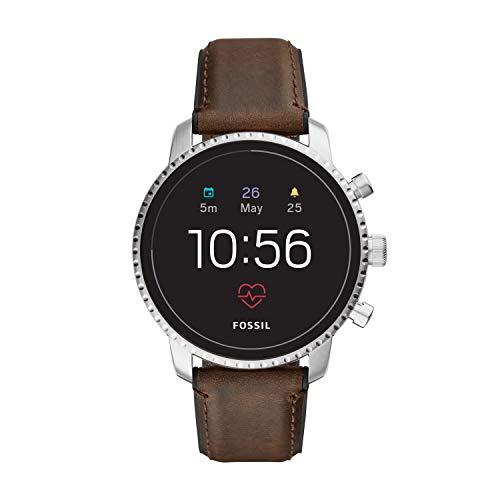 Fossil Explorist Hr Smartwatch Digital Black Dial Men's Watch-FTW4015