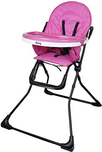 Ding Nemo Fuchsia Roze Kinderstoel met Eetblad