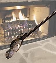 Landmann L1537 1111 Fireplace Tongs, Black
