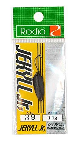 Rodiocraft(ロデオクラフト) ルアー JEKYLL Jr 1.1g #39 マットチョコレート スプーン