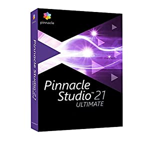 Pinnacle Studio 21 Ultimate - Software De Producción Y Edición De Vídeo, Multilingüe , 1 Licencia