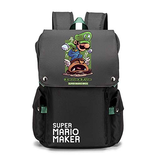 Super Mario Boys Backpack for Kids, Back to School Bag for Children with Super Mario Design, Interesting Gifts for All Age