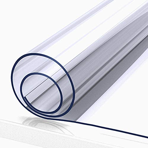 Owfeel PVC Sneeze Guard, Replaced PVC screen for Roll up Sneeze Guard Floor Standing Sneeze Screen, Protective Screen 31.5' X 78.7'
