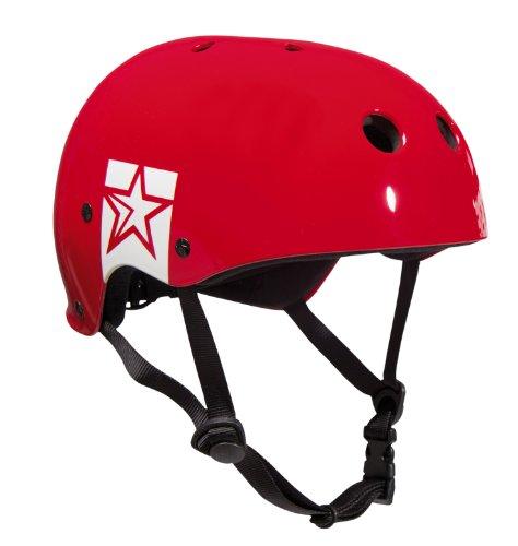 Jobe Helm Slam Wake Helmet - Casco de wakeboarding, color Rojo, talla XL