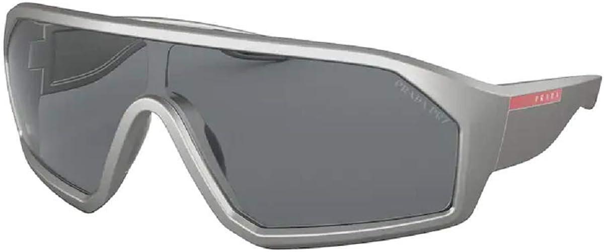 Prada PS03VS Shield Sunglasses for Men + FREE Complimentary Eyewear Kit