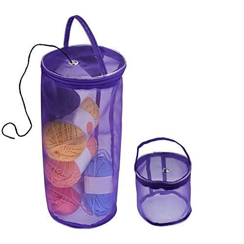 crochet sewing basket - 8