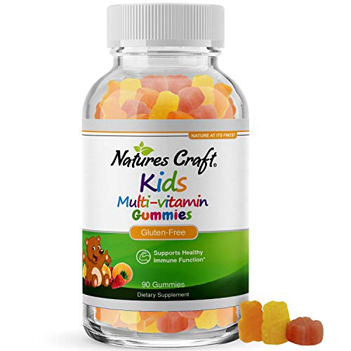 Gummy Vitamins for Kids Immune Support - Children's Vitamins Supplements for Toddler and Kids Health - Kids Multivitamin Gummy Bears Natural Energy Supplement with B Complex Vitamins