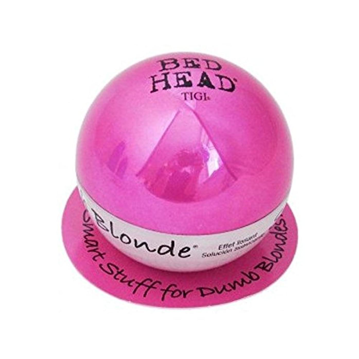区セクション風変わりなTigi Bed Head Dumb Blonde Smoothing Stuff (42G) (Pack of 6) - ティジーベッドヘッドダムブロンドスムージングスタッフ(42グラム) x6 [並行輸入品]