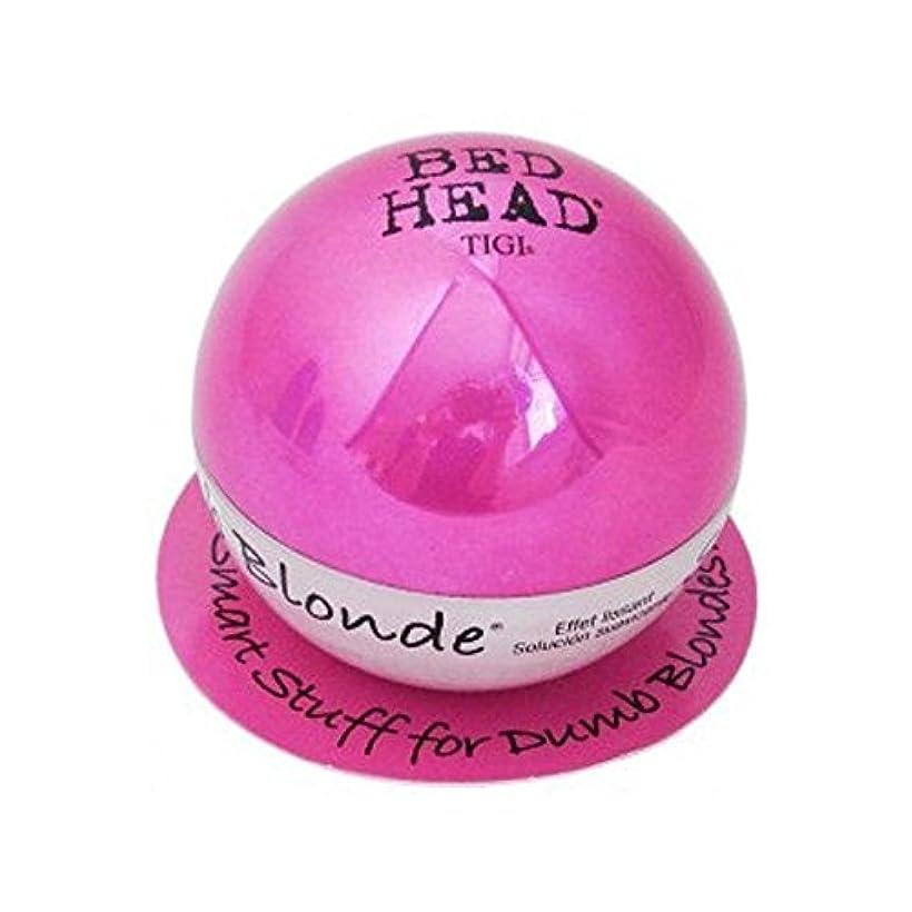 枯渇驚き愛情ティジーベッドヘッドダムブロンドスムージングスタッフ(42グラム) x4 - Tigi Bed Head Dumb Blonde Smoothing Stuff (42G) (Pack of 4) [並行輸入品]