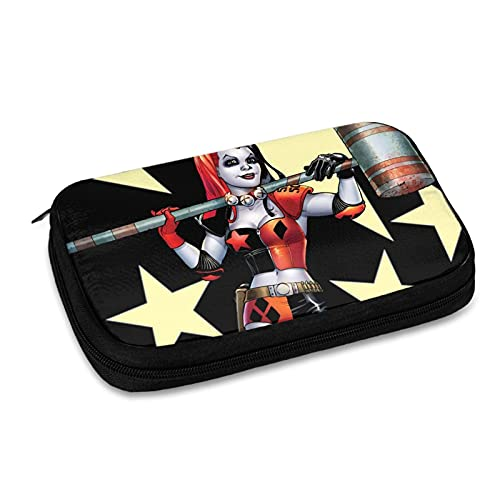 Harley-Quinn Data Line Bolsa de almacenamiento de línea de viaje, bolsa de almacenamiento de accesorios electrónicos, cargador USB, etc. Bolsa de almacenamiento de viaje multifunción