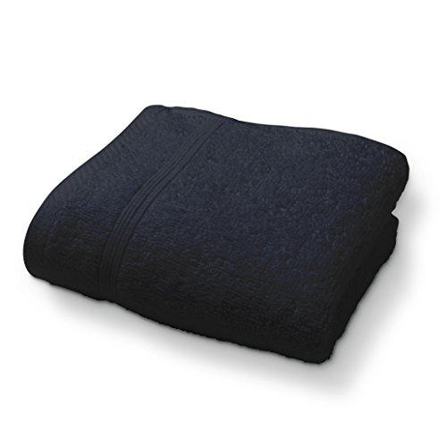 Today serviettes Invité Coton, Noir, 50x30 cm