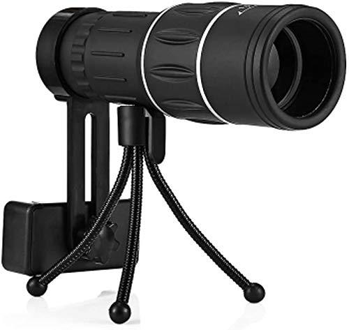TEHWDE Handheld Ultra Monocular Scope 16x52 Monocular Telescope Dual Focus Instellen van het zicht op het nachtlampje bij de jacht op de camping en vogels observatie