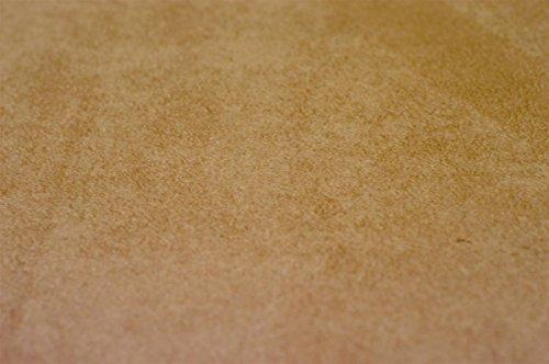 Manufaktur Schaumstoffe Wegerich Ersatz-Bezug für Stufenlagerungswürfel - 55x45x35cm Microfaserstoff karamell