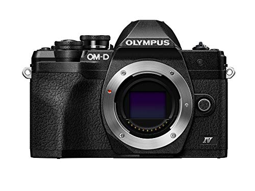 Olympus OM-D E-M10 Mark IV Black Camera Body