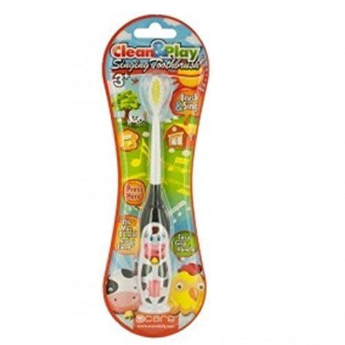 This Manual Toothbrush for Kids Sings