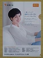 ホラン千秋 クリアファイル 日本税理士会連合会