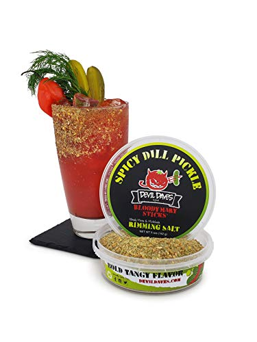 Devil Daves Bloody Mary Rimming Salt - Spicy Dill Pickle | 4.5 oz.