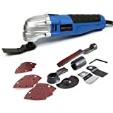 Powerful Oscillating Tool Multi Tools 21000 RPM with 3 x Saw Blades...