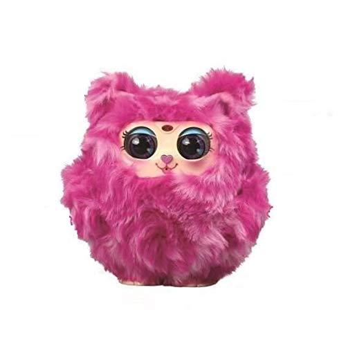 Tiny Furries - Jouet Electronique - Mama Furry Rose - Douce Intéractive Se dandine Capteurs Sensoriels Réactions aux Mouvements aux Bruits et Toucher