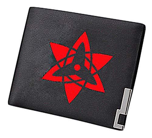 Cosstars Naruto Anime Portemonnaie Bifold Brieftasche Kunstleder Schlanke Geldbörse Kreditkartenhülle /9