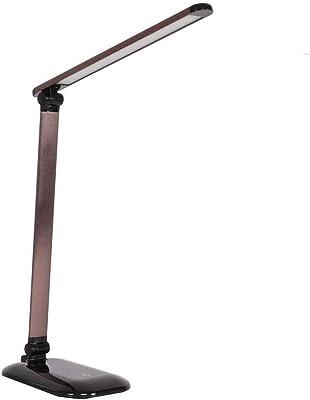 LIBOYUJU USB Plegable sin escalonamientos LED Recargable lámpara ...