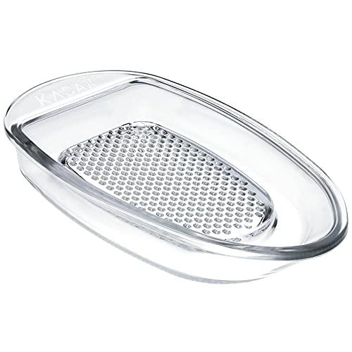 KADAX Obstreibe aus Glas, ovale...