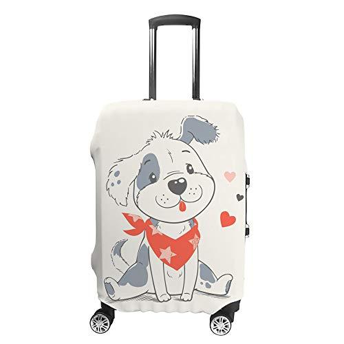 Ruchen - Funda Protectora para Maleta de Perro con diseño de Dibujos Animados