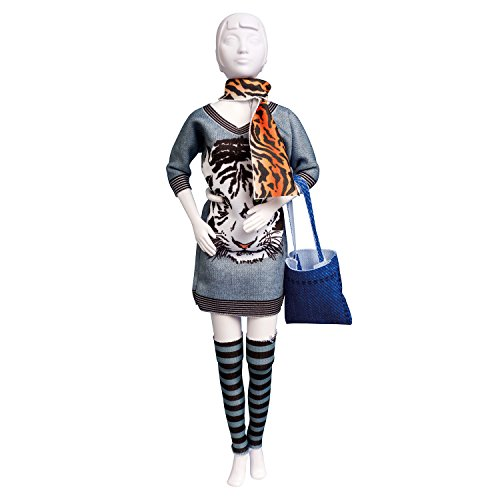 Dress your doll - Puppenkleider selber machen - Level 1 - Sally Tiger