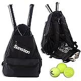 Senston Tennistasche Backpack mit speziellem Raum für Schuhe und Flaschen, 5 Schichten Tennis...