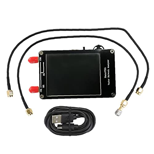 Vector Analizador De Red 50k-900m Antena Vna Medición De Parámetro Voltaje Relación De Onda De La Onda con Pantalla LCD Instrumento De Medición Electrónica