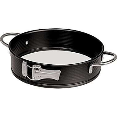 Zenker Handle-It Glass Bottom and Non-Stick Springform Pan, 9-Inch