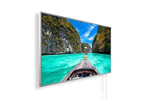 Könighaus 1000W Bildheizung (Infrarotheizung mit hochauflösendem Motiv) (1000W-Phi Phi Island Thailand) - inkl. Thermostat