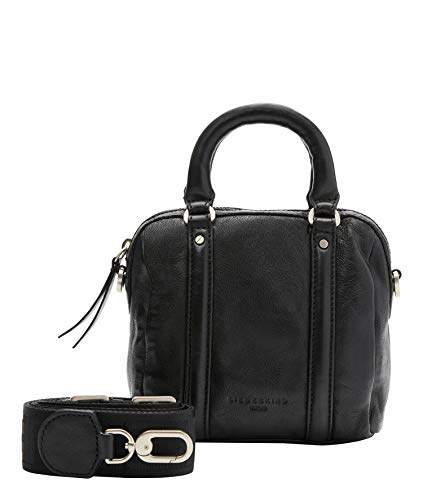 Liebeskind Berlin Handtasche, Oak Bowling Bag, Extra Small, black