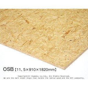 OSB 【11.5×910×1820mm】<O>