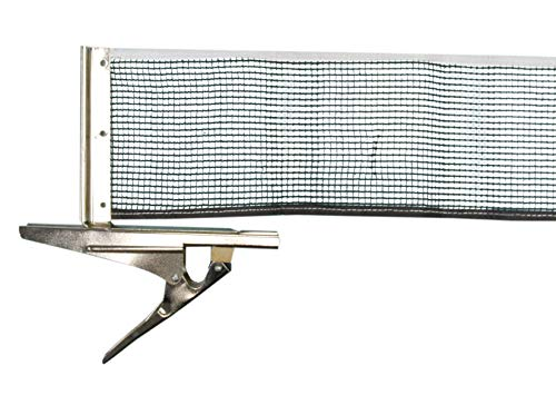 Donic-Schildkröt Clipmatic Tischtennis-netzgarnitur, schwarz/weiß, One Size